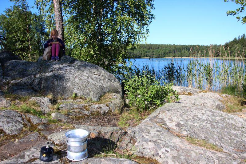 Morgenmad i den svenske natur
