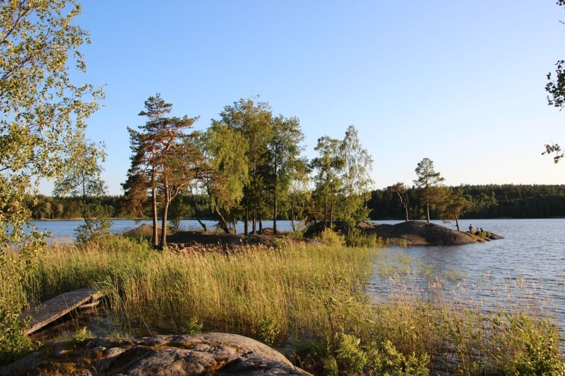 Udsigt fra Eklundsnäs Camping